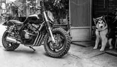 ZIFE Project  Honda CB400 tracker ZF-07