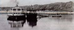 """Supposedly - """"Rus"""" moored at Tobolsk on Tyumen River - Aug 6 - 1917."""