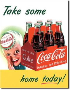Coke Coca Cola Soda Pop Sprite Boy Bottles Vintage Advertising Tin Sign 1050 | eBayf---Have