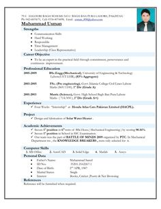Resume Format For Mechanical Engineer Mechanical Engineer Resume For Fresher Httpwwwresumecareer, Mechanical Engineer Resume For Fresher Resume Formats Resume, Mechanical Engineering Resume Example, Latest Resume Format, Professional Resume Format, Resume Format In Word, Resume Format Examples, Cv Format, Cv Examples, Resume Pdf, Basic Resume, Job Resume Template
