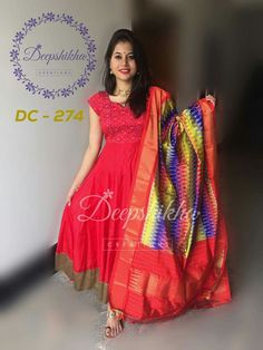 Silk Kurti Designs, Kurta Designs Women, Kurti Designs Party Wear, Lehenga Designs, Long Gown Dress, Lehnga Dress, Frock Dress, Anarkali Lehenga, Kalamkari Dresses