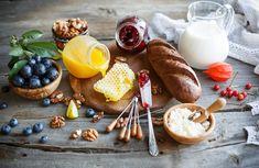 Miel Lait Prune Powidl Noix Cruche Tasse Nourriture