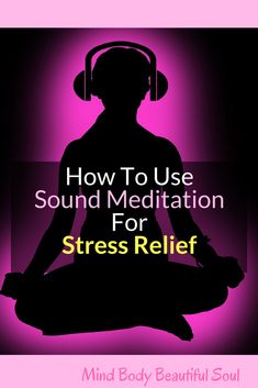 How To Use Sound Meditation For Stress Relief. Insomnia was the worst for me. Staying up all night from stress. The restlessness is hard to shake off. There are ways I counteract the over-productive mind through sound meditation. Meditation For Health, Meditation For Anxiety, Relaxation Meditation, Meditation Benefits, Meditation For Beginners, Chakra Meditation, Healing Meditation, Mindfulness Meditation, Meditation Audio