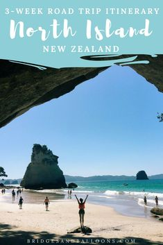 The ultimate North Island New Zealand road trip itinerary, including costs and tips. All you need for the best New Zealand road trip North Island itinerary. Visit New Zealand, New Zealand Travel, Top Travel Destinations, Travel Tips, Travel Guides, Travel Plan, Travel Info, North Island New Zealand, New Zealand Adventure