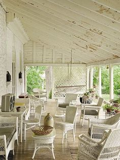 I see this casual and inviting elegance as farmhouse style.