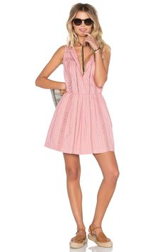 Tularosa x REVOLVE Gloria lace Dress in pink