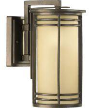 Quorum International 7916-7 Larson 1 Light Outdoor Wall Light