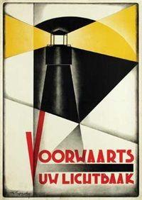 Voorwaarts Uw Lichtbaak by Albert Johann Funke Kupper