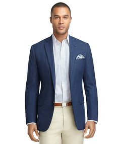 Any color  Fitzgerald Fit Hopsack Blazer Navy