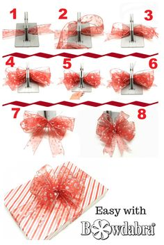 Learn how to make the perfect bow for this year gift giving season.