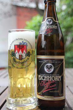 Kellerbier der Brauerei Eichhorn aus Dörfleins neben Hallstadt   Flickr - Fotosharing!