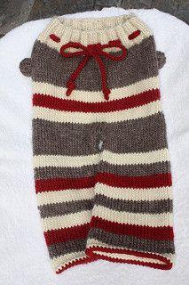 Ravelry: PiccoloBlue's Sock Monkey Longies