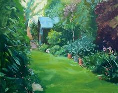 Artists Garden, Adrian Clamp landscapes, Adrian Clamp, SAA Professional Members' Galleries