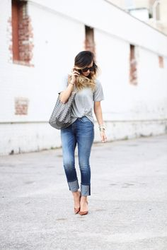 For All Things Lovely: The Perfect Grey Tee for $38!