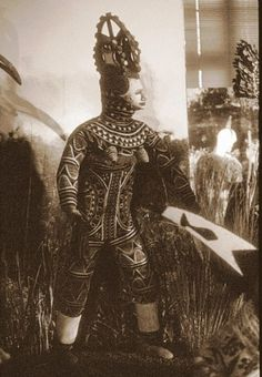 Agbogho Mmuo, Igbo maiden spirit mask and costume.