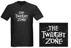 The Twilight Zone Vintage TV Series Logo t-shirt
