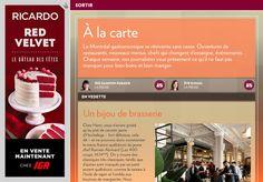 À la carte - La Presse+ Restaurants, Eating Well, Fine Dining, Cards, Restaurant