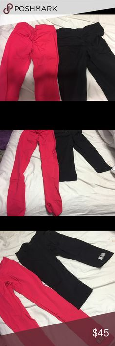 Booty scrunch best selling workout pants Literally the best workout pants in the world only selling because I purchased a million of them. Sold for $75 each celestial bodies they stretch fits sizes S/M one is a capree pant and the other is to the ankle. Makes your body look amazing! Emphasize your booty celestial bodiez Pants Ankle & Cropped