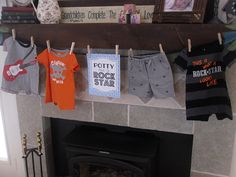 Rock-A-Bye Baby Shower: Swag Banner