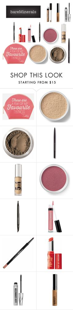 """""""Bare Minerals :)"""" by grateful-angel ❤ liked on Polyvore featuring beauty, Zoella Beauty and Bare Escentuals"""