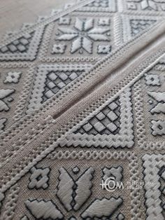 Bargello, Needle And Thread, Embroidery Designs, Blanket, Crochet, Lace, Model, Norway, Needlepoint