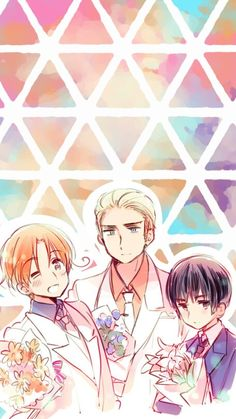Hetalia wallpaper (my current phone background) it's so cutiee Power Wallpaper, Trendy Wallpaper, Phone Backgrounds, Wallpaper Backgrounds, Iphone Wallpapers, Anime Lock Screen, Latin Hetalia, Pokemon, Hetalia Fanart
