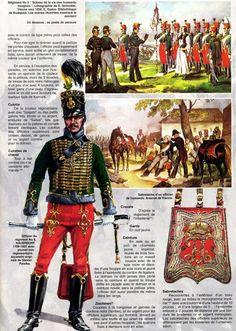 Austrian Hussar Regiment no. 8 - Австрийские гусары 1792-815гг. | 57 фотографий