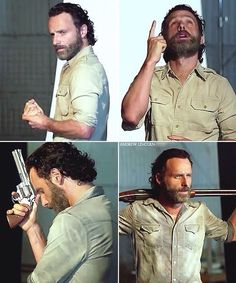 """""""Rick is contemplating his STUFF and THANGS"""""""