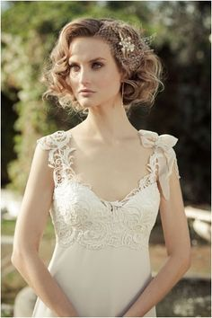 short hair bride - Google Search