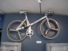 Graeme Obree's Old Faithful Hour Record Bike