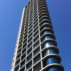 Sleek appartment tower