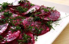 Salada de beterraba com tahine | Panelinha - Receitas que funcionam
