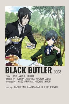 Black Butler Poster by Cindy