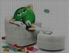 Green M&M Relaxing Crochet Pattern