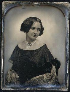 Her eyes are so dreamy, she is feeling her femininity in 1850. It is such a wonderful feeling.