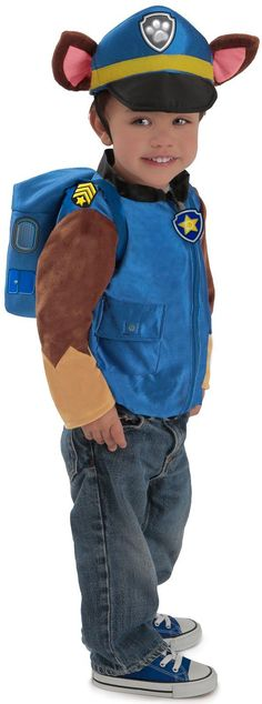 Paw Patrol Chase Costume for Toddlers from CostumeExpress.com