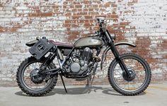 Scott's XT500 - The Bike Shed