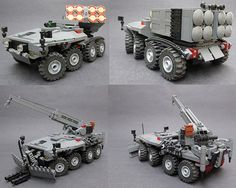 VRCP MLRS/CEV | Flickr - Photo Sharing! Lego Robot, Lego War, Legos, Lego Zombies, Lego Machines, Lego Truck, Lego Boards, Lego Ship, Lego Craft