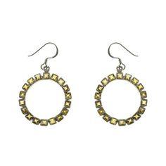 Trendy Handmade jewelry, silver earrings with Bohemian Topaz 4:45 Inch: ShalinCraft: Amazon.de: Jewelry