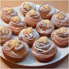 Cronut, Croissant, Pasta Choux, Muffins, Egg Sandwiches, Doughnut, Breakfast Recipes, Bakery, Cupcakes