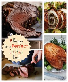 9 Recipes for Perfect Christmas Roasts: Everything You Need to Know, From Rib Roast to Pork Loin to Turkey