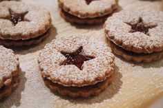 Linzer Cookies (Gluten Free)