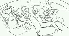 """humnyn: """"DRAW THE SQUAD roadtrip edition. If you use this base, please credit me and link me your version! :D """" humnyn: """"DRAW THE SQUAD roadtrip edition. If you use this base, please credit me and link me your version! Drawing Templates, Drawing Sketches, Drawing Tips, Drawing Challenge, Art Challenge, Funny Drawings, Art Drawings, Pencil Drawings, Draw The Squad"""