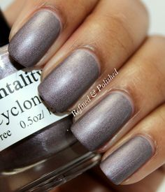 Mentality Nail Polish - Cyclone. Swatch by Refined and Polished.