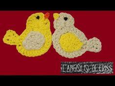 Uccellini all'uncinetto - crochet birds - aves en crochet - YouTube