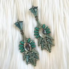 HPNew Mint Dangle Earrings! Never been worn! Light weight! ❌Trades ❌Paypal Jewelry Earrings