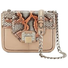 Pre-owned Rebecca Minkoff Alania: Msrp Mango And Snakeskin Cross Body... (640 CAD) ❤ liked on Polyvore featuring bags, handbags, shoulder bags, mango and snakeskin, crossbody purse, leather purse, hand bags, crossbody shoulder bags and leather crossbody handbags