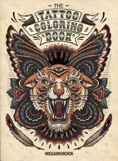 Tattoo Art Coloring Book