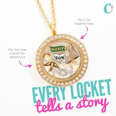 Origami Owl for Mother's Day (May 10, 2015). You know it's what she wants! Click on the pic to order!