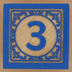 Block Number 3 by Leo Reynolds, via Flickr Letters And Numbers, Love Letters, Alphabet Photos, Lucky Number, Lucky Charm, Numerology, Shades Of Green, Typography Design, Home Art
